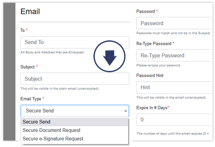 Portal - Secure Email Send